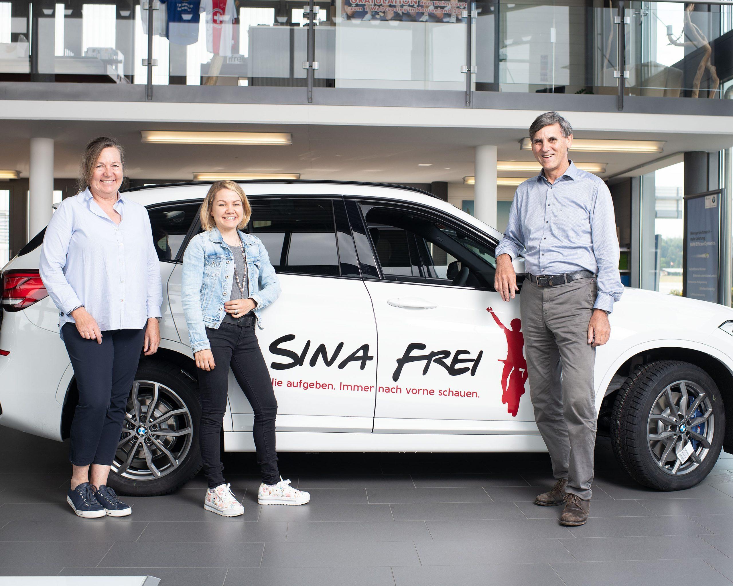 BMW Bachenbülach Ist Neuer Mobilitäts-Partner Von Sina