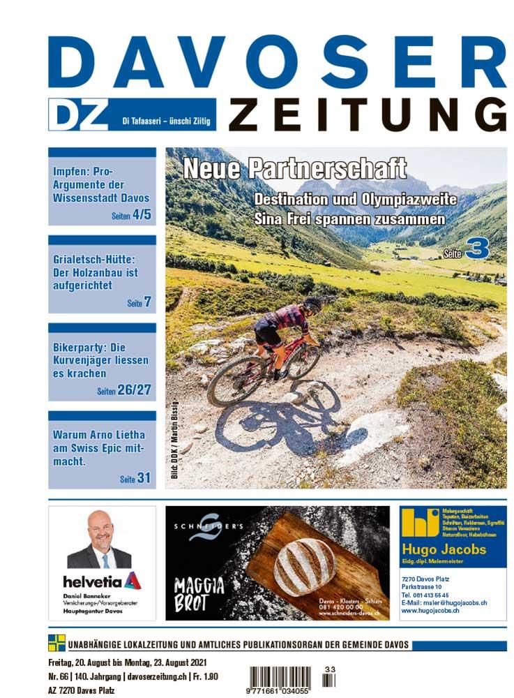 2021-08-20: Davoser Zeitung