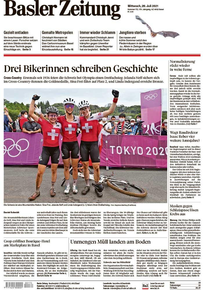 2021-07-28: Basler Zeitung