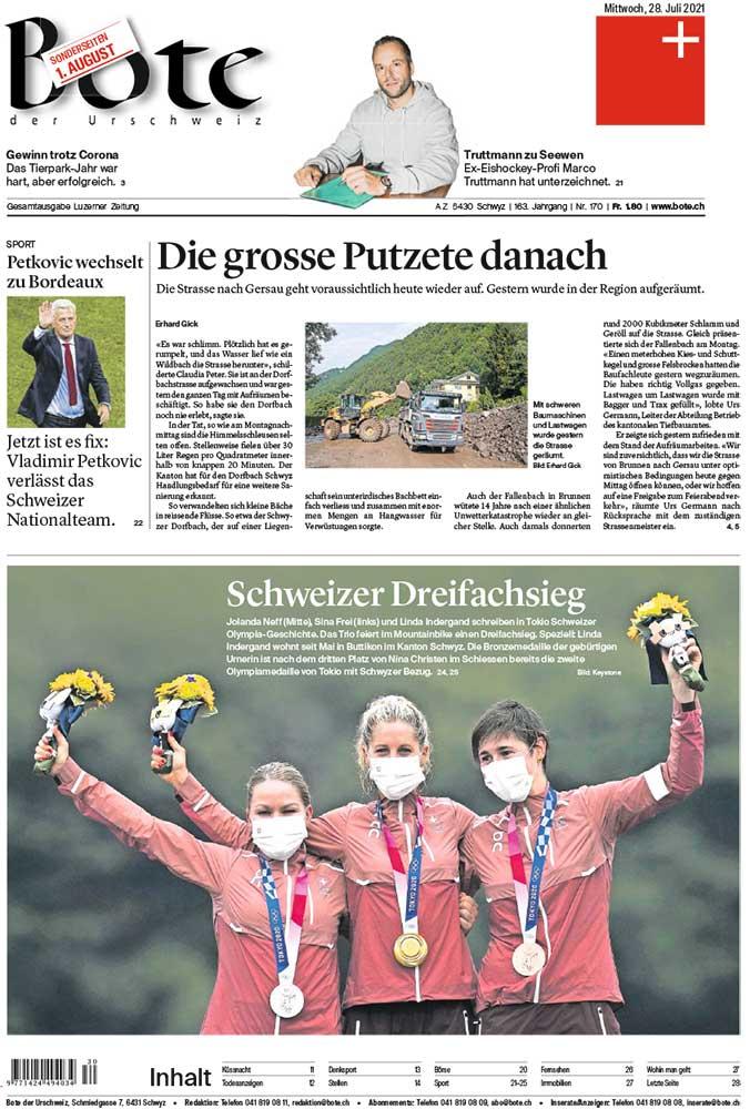 2021-07-28: Bote Urschweiz