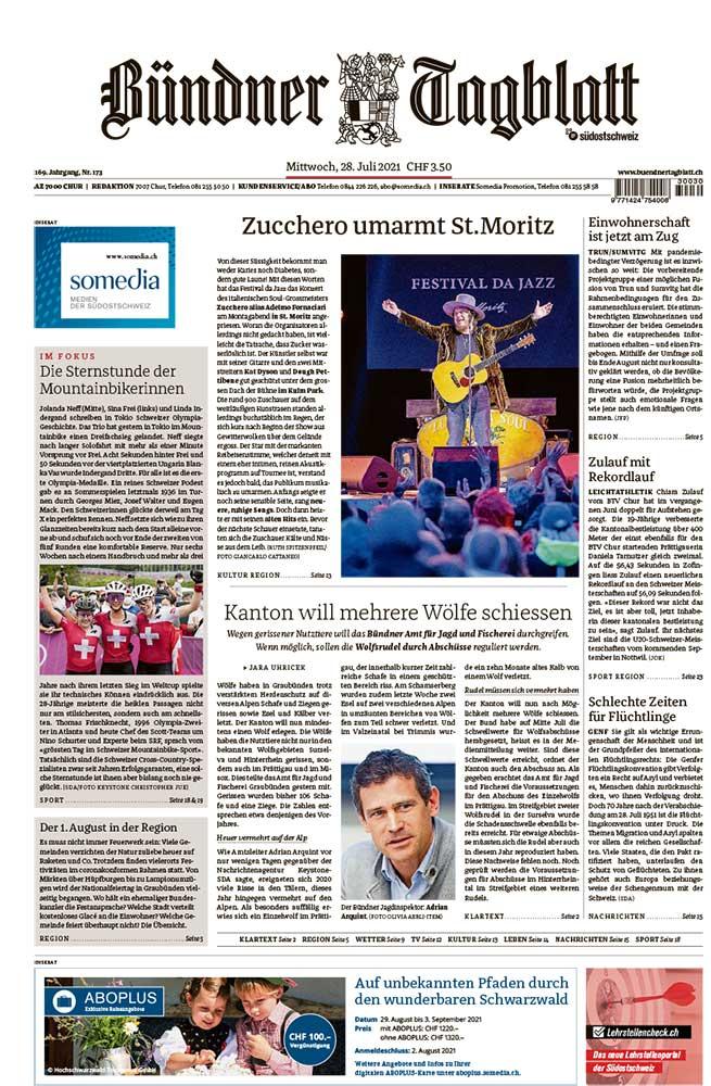 2021-07-28: Bündner Tagblatt