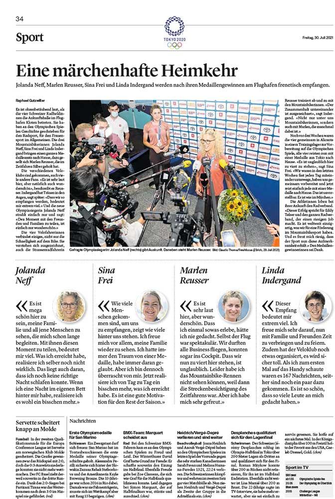 2021-07-28: Thurgauer Zeitung