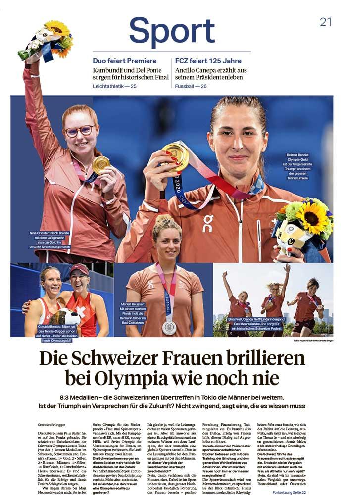 2021-08-01: Sonntagszeitung