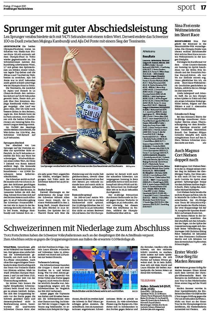 2021-08-27: Freiburger Nachrichten