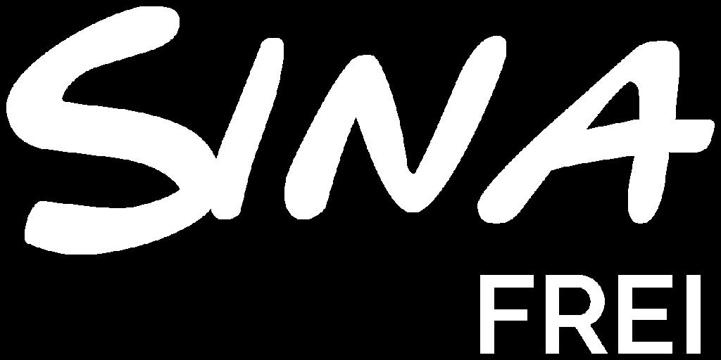 Sina Frei Logo white