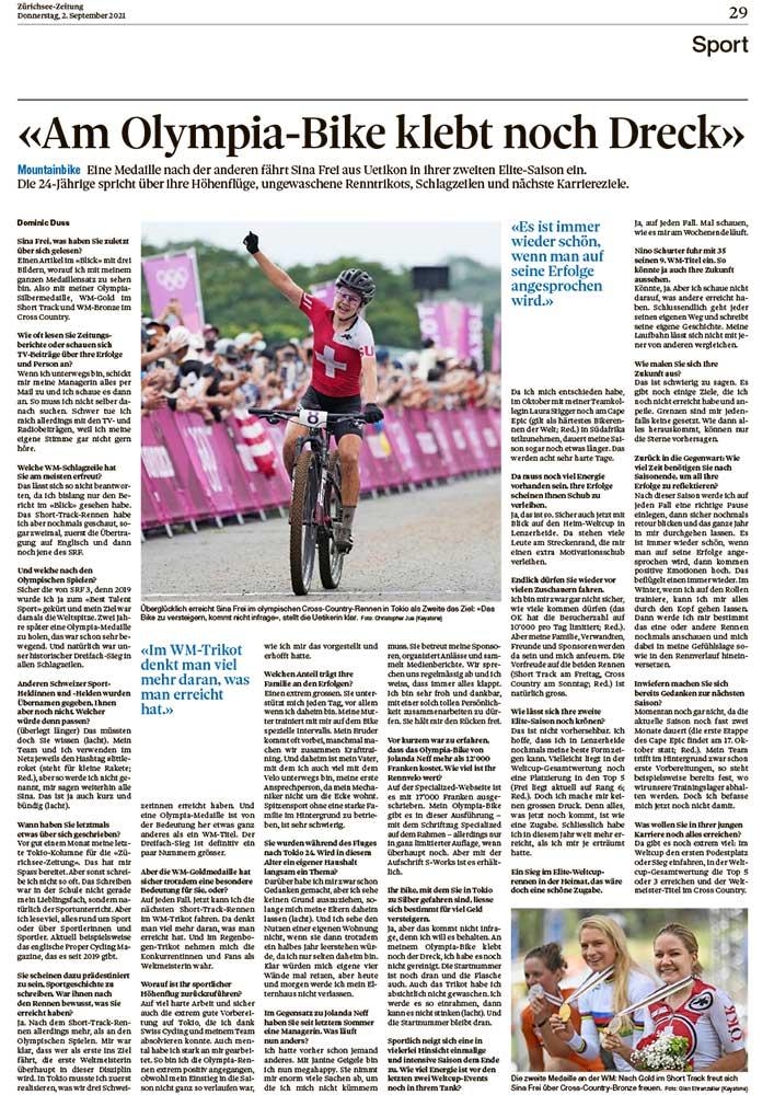 2021-09-02: Zürichsee-Zeitung